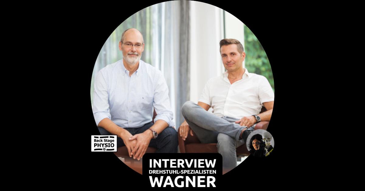 Beitragsbild Backstagephysio Interview mit den Drehstuhlspezialisten Wagner