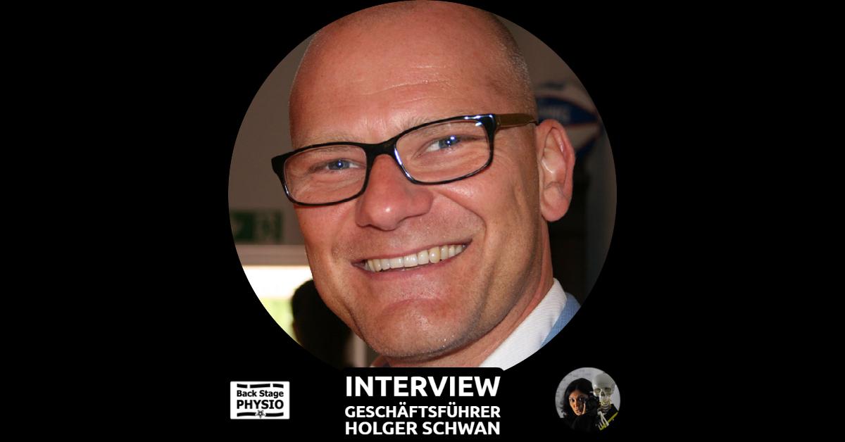Beitragsbild Backstagephysio Interview mit Unternehmer Holger Schwan