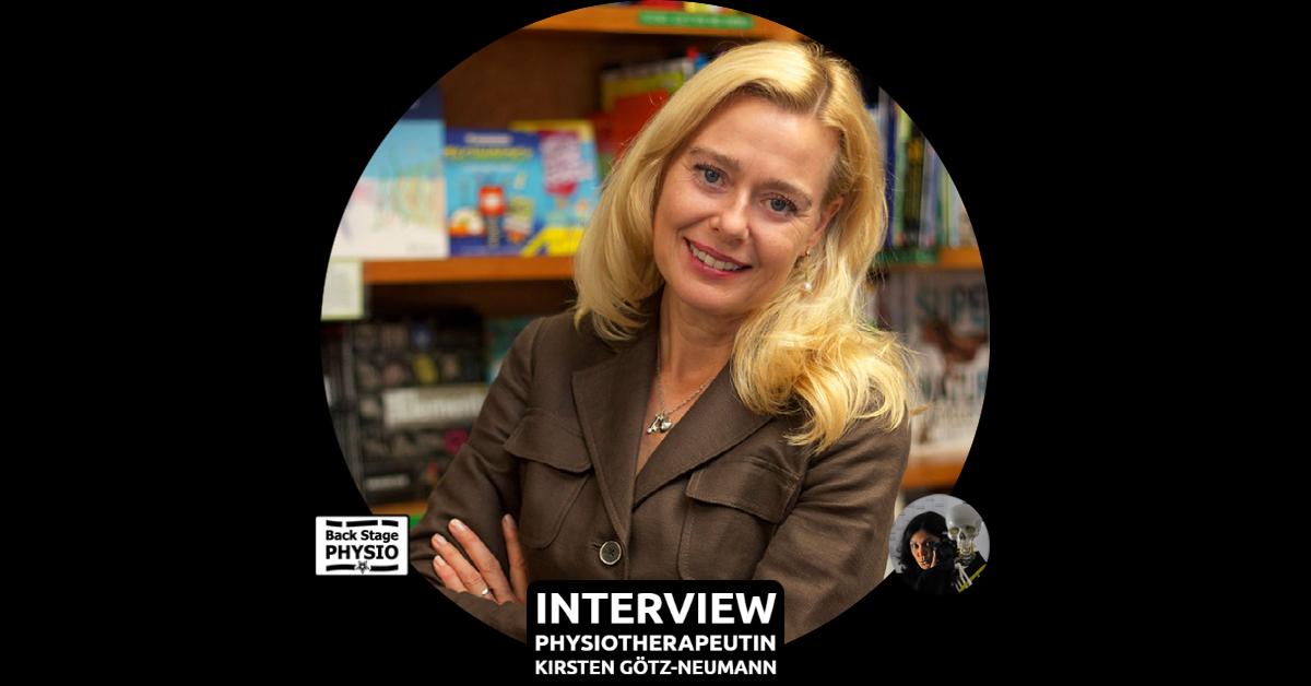Beitragsbild Backstagephysio Interview mit Physiotherapeutin Kirsten Götz-Neumann