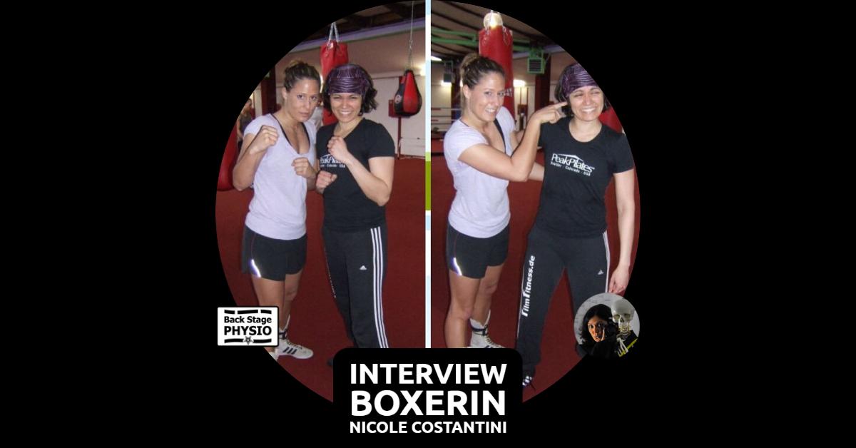 Beitragsbild Interview mit Boxerin Nicole Costantini
