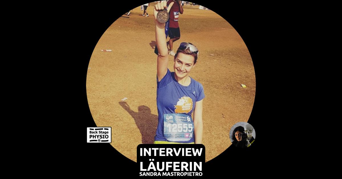Beitragsbild Backstagephysio Interview mit Läuferin Sandra Mastropietro